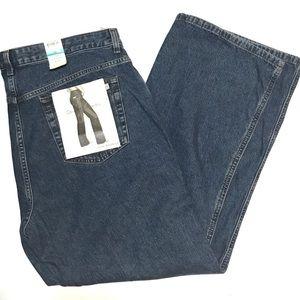 CALVIN KLEIN Slim Bootcut Denim Blue Jeans Size 16